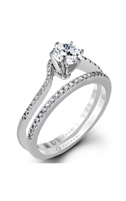 Zeghani Classic Beauty  Engagement Ring ZR1174 product image