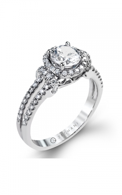 Zeghani Delicate Diva Engagement ring ZR1178 product image