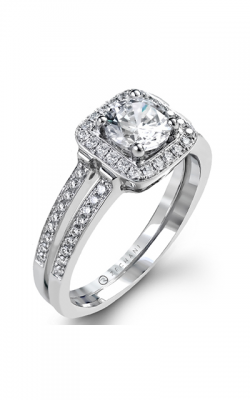 Zeghani Delicate Diva Engagement ring ZR1179 product image