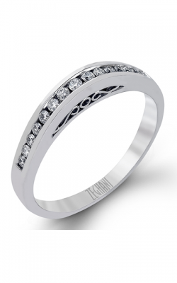 Zeghani Classic Beauty Wedding band ZR118 product image