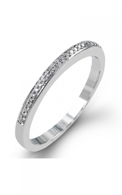 Zeghani Classic Beauty Wedding Band ZR1181 product image