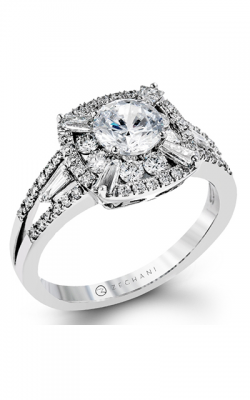 Zeghani Vintage Vixen Engagement ring ZR1192 product image