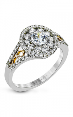 Zeghani Vintage Vixen Engagement ring ZR1193 product image
