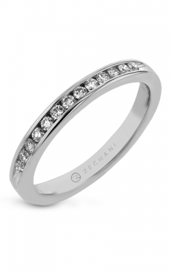 Zeghani Delicate Diva Wedding band ZR1199 product image