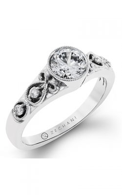 Zeghani Vintage Vixen Engagement Ring ZR1209 product image