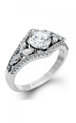 Zeghani Nature Lover Engagement Ring ZR121 product image