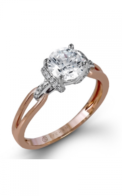 Zeghani Refined Rebel Engagement Ring ZR1217 product image