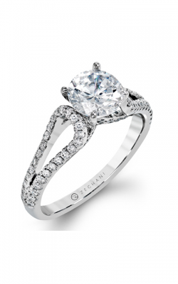 Zeghani Delicate Diva Engagement ring ZR1226 product image