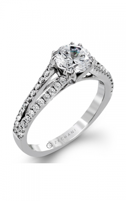 Zeghani Delicate Diva Engagement ring ZR1242 product image