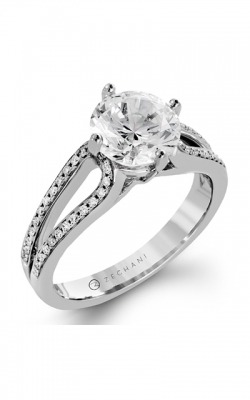 Zeghani Refined Rebel Engagement Ring ZR1243 product image