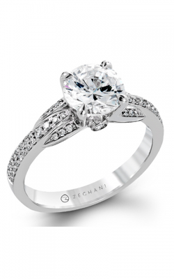 Zeghani Delicate Diva Engagement ring ZR1245 product image