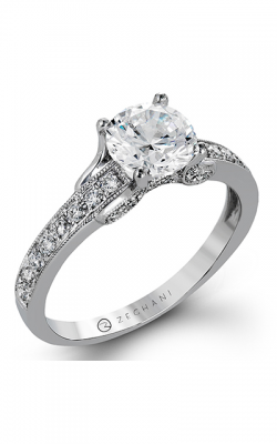 Zeghani Vintage Vixen Engagement Ring ZR1248 product image
