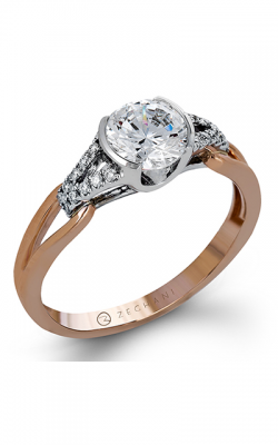 Zeghani Refined Rebel Engagement ring ZR1269 product image