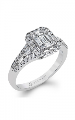 Zeghani Delicate Diva Engagement ring ZR1273 product image