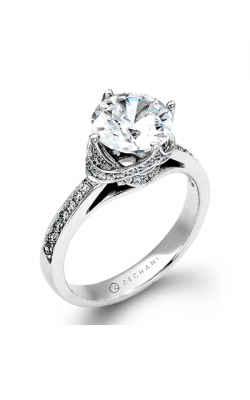 Zeghani Refined Rebel Engagement Ring ZR1282 product image