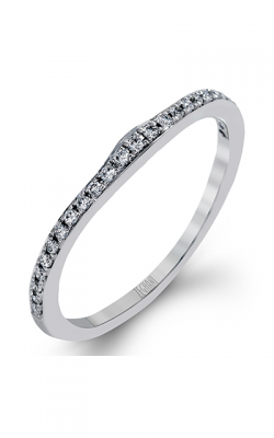 Zeghani Blindingly Beautiful Wedding Band ZR1224 product image
