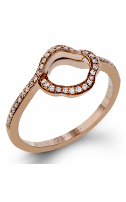 Zeghani Refined Rebel Wedding Band ZR1233 product image