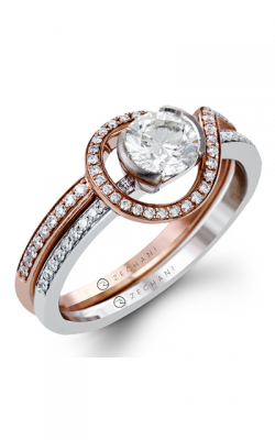 Zeghani Refined Rebel Engagement ring ZR1231 product image