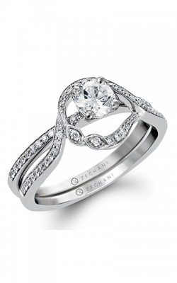 Zeghani Refined Rebel Engagement Ring ZR1232 product image