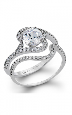 Zeghani Delicate Diva Engagement Ring ZR1238 product image