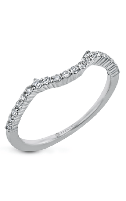 Zeghani Classic Beauty Wedding Band ZR30SPWB product image