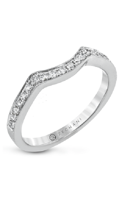 Zeghani Classic Beauty Wedding band ZR30PVWB product image