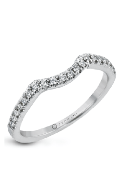 Zeghani Classic Beauty Wedding Band ZR30PRWB product image
