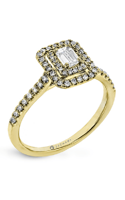 Zeghani Delicate Diva Engagement Ring ZR1863-Y product image