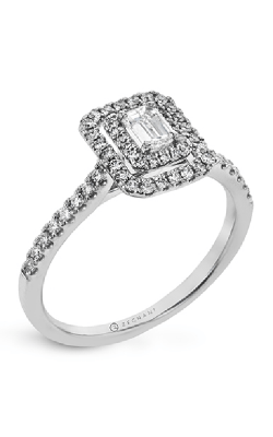 Zeghani Delicate Diva Engagement ring ZR1863 product image
