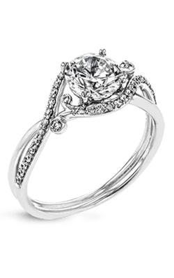 Zeghani Vintage Vixen Engagement ring ZR1696 product image