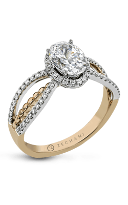 Zeghani Refined Rebel Engagement Ring ZR1694 product image