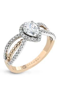 Zeghani Refined Rebel Engagement Ring ZR1693 product image