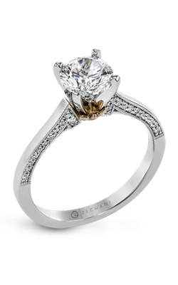 Zeghani Classic Beauty Engagement Ring ZR1655 product image