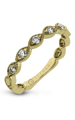 Zeghani Vintage Vixen Wedding Band ZR1609-Y product image
