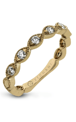 Zeghani Vintage Vixen Wedding Band ZR1609-R product image