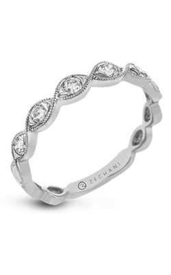 Zeghani Vintage Vixen Wedding Band ZR1609 product image
