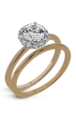 Zeghani Classic Beauty  Engagement ring ZR1589 product image
