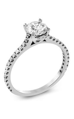 Zeghani Classic Beauty  Engagement Ring ZR1565 product image