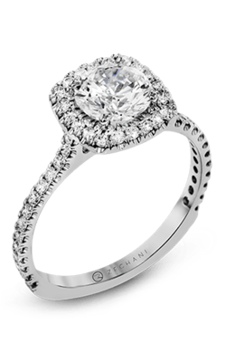 Zeghani Delicate Diva Engagement ring ZR1562 product image