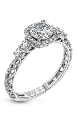 Zeghani Vintage Vixen Engagement Ring ZR1500 product image