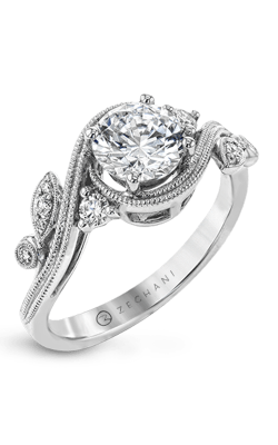 Zeghani Nature Lover Engagement Ring ZR1470 product image