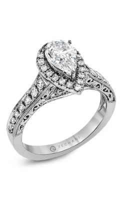 Zeghani Vintage Vixen Engagement ring ZR1383 product image