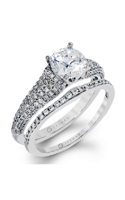 Zeghani Blindingly Beautiful Engagement Ring ZR1224 product image