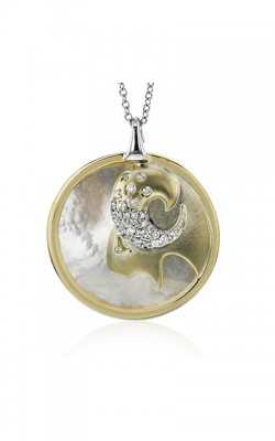 Zeghani Zodiac Signs Constellation Necklace Capricorn-y product image