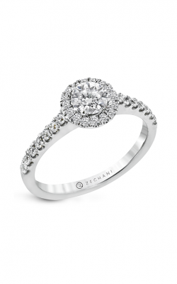 Zeghani The Halo Crown Engagement ring Ngr101 product image