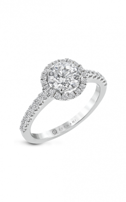 Zeghani The Halo Crown Engagement ring Ngr102 product image