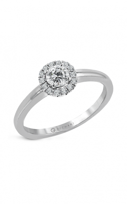 Zeghani The Halo Crown Engagement ring Ngr106 product image