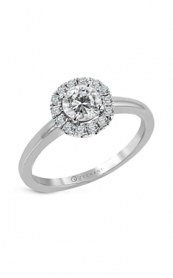 Zeghani The Halo Crown Engagement ring Ngr108 product image