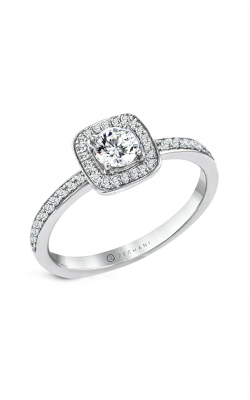 Zeghani The Halo Crown Engagement ring Ngr123 product image