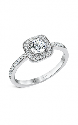 Zeghani The Halo Crown Engagement ring Ngr124 product image